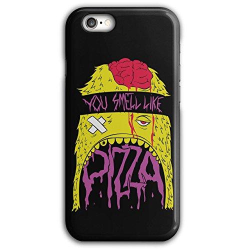 geruch-pizza-zombie-tot-hungrig-neu-schwarz-3d-iphone-6-plus-6s-plus-fall-wellcoda