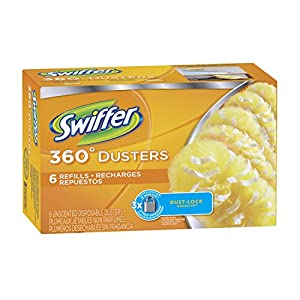Swiffer New Value Size Package 360 Disposable Cleaning Dusters Refills, New Jumbo Size Value Pack 48 Refill Package