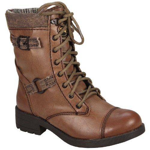 Rocket Dog Thunder Womens Boots Cgm Mocha 10 4 UK, 37 EU