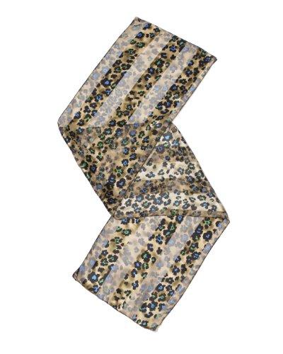 Grace Gold Leopard Print Scarf