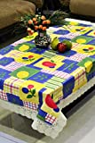 Freely dining table cover for 6 seaters with size (54 x 78 inches)