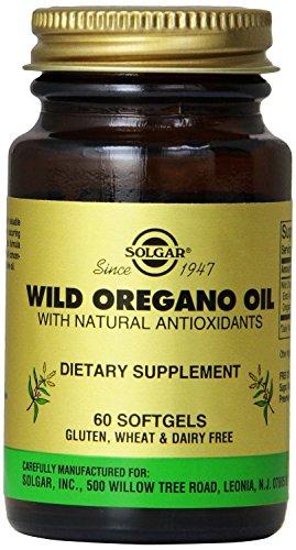 Solgar Wild Oregano Oil Softgels, 60 Count