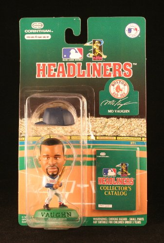 MO VAUGHN / BOSTON RED SOX * 3 INCH * 1996 MLB Headliners Baseball Collector Figure