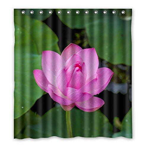 """167 cm x 183 cm (x66 """"x72"""") Curtain Bagno Doccia, Generico Beautiful Lotus moda personalizzata Custom Design HD tenda di acquazzone impermeabile"""