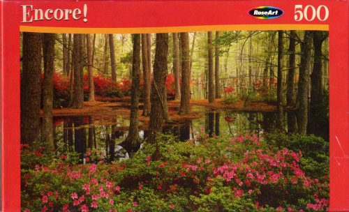 Encore! 500pc. Puzzle-Cypress Gardens by RoseArt