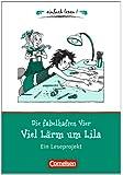 einfach lesen! - Leseförderung: Für Lesefortgeschrittene: Niveau 1 - Die fabelhaften Vier. Viel Lärm um Lila: Ein Leseprojekt zu dem gleichnamigen Roman von Martina Dierks. Arbeitsbuch mit Lösungen