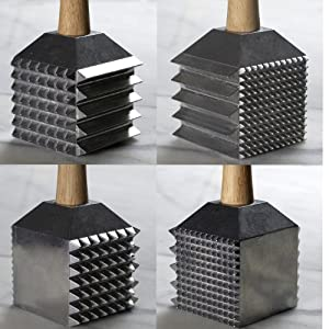 Chefs Meat Tenderizer Mallet by Dalton Ruhlman -a Multifunctional Meat Tenderizing Tool... by Unknown