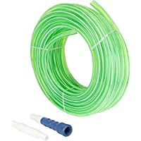 JONDHAN 0.5 Inch 15 Meter Zebra Green PVC Pipe With Connector And Adapter
