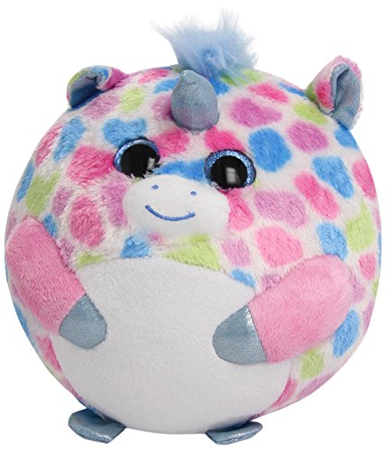Ty Beanie Ballz Fable Unicorn Plush, Medium - 1