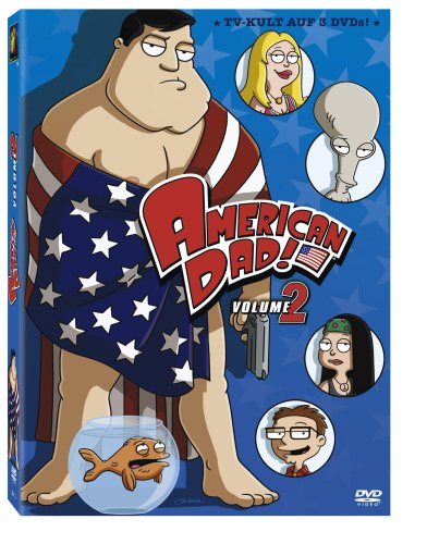 American Dad - Volume 2 (3 DVDs)