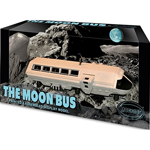 Moebius Models Moon Bus Prefinished Assembled Model (2001 A Space Odyssey Toy compare prices)