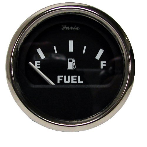 Moeller Marine Electric Dash Mounted Fuel Gauge (33 to 240 Ohm's) (Electric Fuel Gauge compare prices)