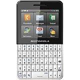 Motorola EX223 Unlocked GSM Phone with Dual SIM, Touchscreen, QWERTY Keyboard, 3