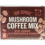 Four Sigma Foods Mushroom Coffee, 10 Count