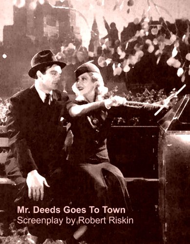 Mr. Deeds Goes To Town Screenplay (Script) [Student Loose Leaf Edition]