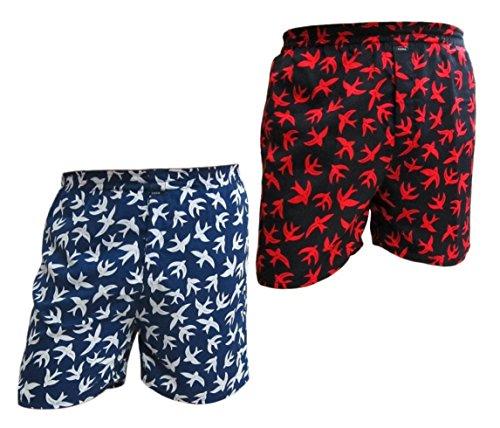 SYDA-Mens-Printed-Boxer-Shorts-Pack-Of-2-Combo