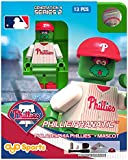 MLB Philadelphia Phillies Phillie Phanatic Generation 4 Mini Figure, Small, Black