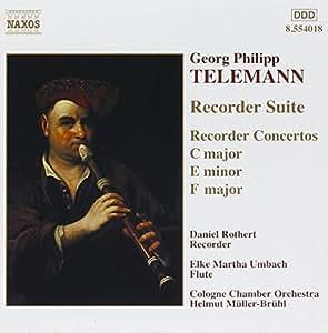 Suite & Concertos for Recorder