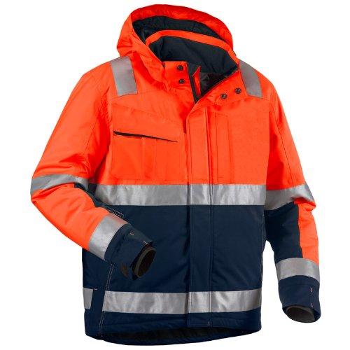 Blakläder High Vis Winter Bundjacke Kl. 3 Orange/Marineblau, 487019875389, Gr. 4XL
