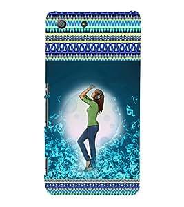 ifasho Designer Phone Back Case Cover Sony Xperia M5 Dual :: Sony Xperia M5 E5633 E5643 E5663 ( Giraffes SunLight )