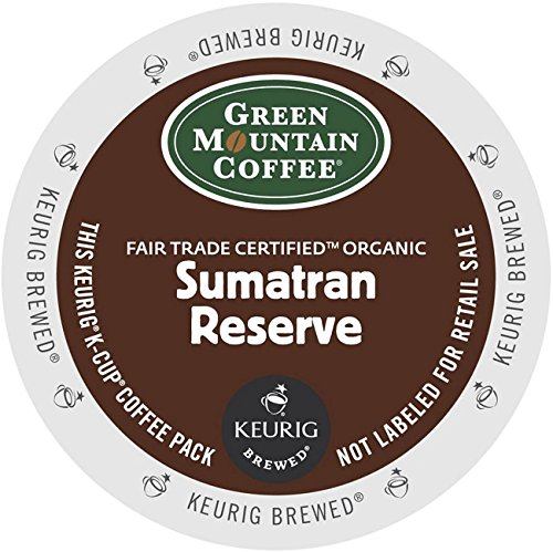 Green Mountain Coffee K-Cup Portion Pack for Keurig K-Cup Brewers, Sumatra Reserve (Pack of 96) (Coffee In K Cups compare prices)