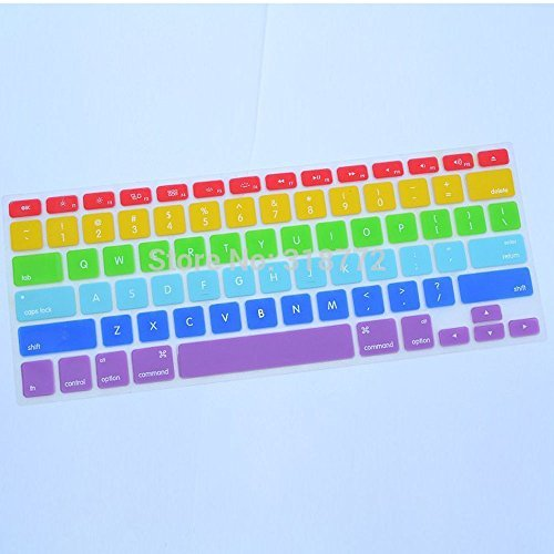 Colourful Tpu Soft Silicone Keyboard Case Cover Protector For Apple Macbook Air 11.6