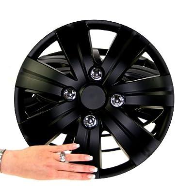 Radkappen New Style schwarz matt 13 Zoll hochwertiger ABS Kunststoff von Vertrieb durch Preiswert & Gut auf Reifen Onlineshop