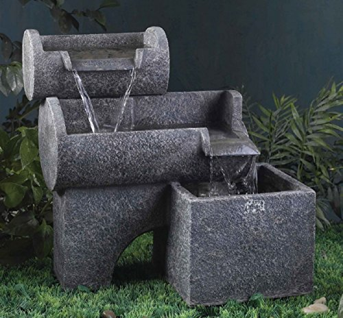 polyresin brunnen garten brunnen preisvergleiche. Black Bedroom Furniture Sets. Home Design Ideas