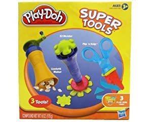 Play Doh Super Tools