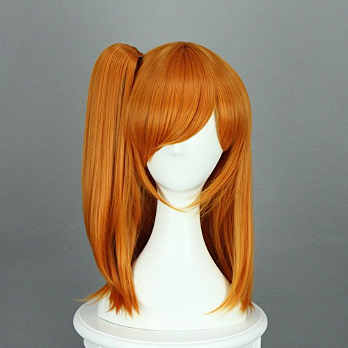 Anime Cosplay Costume Wigs for Lovelive! Kousaka Honoka Short Orange