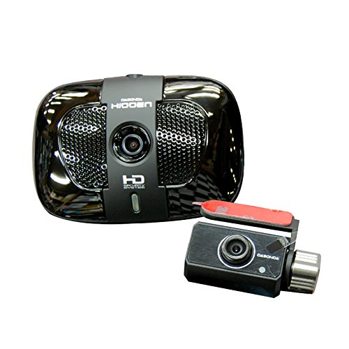 "[16Gb + Cigar Jack] Dabonda Hidden Hid-3500H Black Box Car Video Dash Cam 2Ch Hd-Vga @ 20Fps Touch Lcd 3.5"""