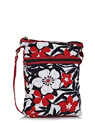 Home Heart Women's Hipster Sling Bag (Red/Multi)