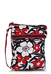 Home Heart Womens Womens Hipster Sling Bag (Red/Multi)