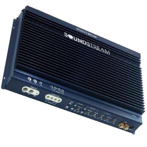 Soundstream Ref2.640 2 X 190 2-Channel Amplifier (Midnight Blue)
