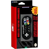 HORI Super SNES Classic Edition Fighting Commander Wireless Controller Pad Officially Licensed by Nintendo