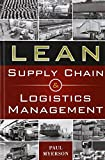 img - for Lean Supply Chain and Logistics Management book / textbook / text book