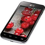 LG Optimus L5 II Dual E455 SIM Unlocked GSM Android Smartphone, No Warranty, Black