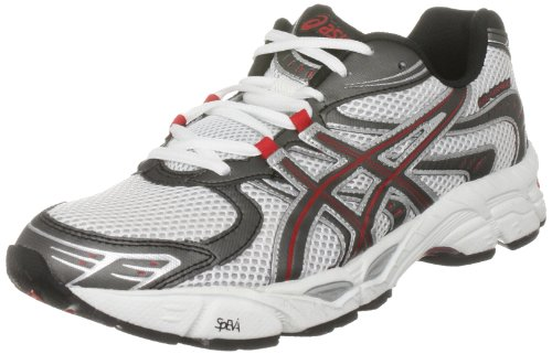 ebb57890d509 Men s Running Shoes  Asics Men s Gel Virage 5 White Black Red ...