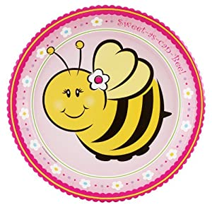 Sweet-As-Can-Bee Dinner Plates