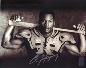 Bo Jackson Autographed Cross Sport 8x10 Proof Picture, COA, & Jackson Hologram Included raiders and Royals