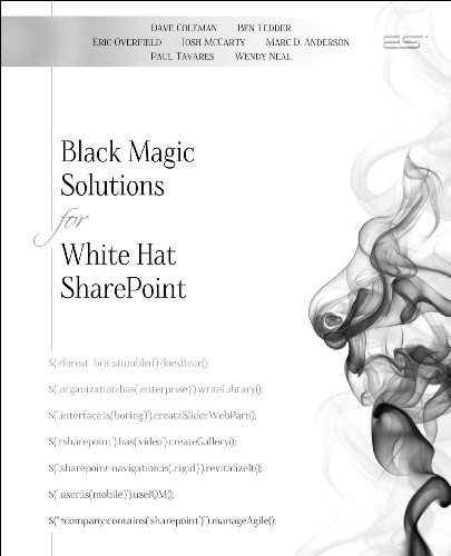 Black Magic Solutions for White Hat SharePoint (Josh Coleman compare prices)