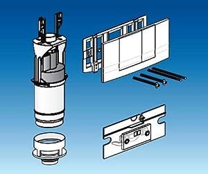 Friatec WCModernisierungsset Friabloc inkl. Betätigungsplatte F 102 weiß  330801  BaumarktKundenbewertung und Beschreibung