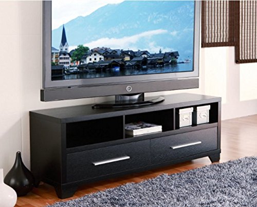 How Do I Get Modern 60 Inch Flat Screen Tv Stand In Black Finish