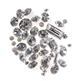 SWAROVSKI ELEMENTS Chaton Mix - Assorted Shapes And Sizes - Crystal (4.5 Grams)