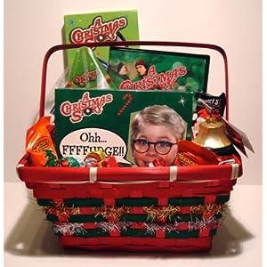 christmas story gift on christmas story dvd and candy gift basket amazon com grocery