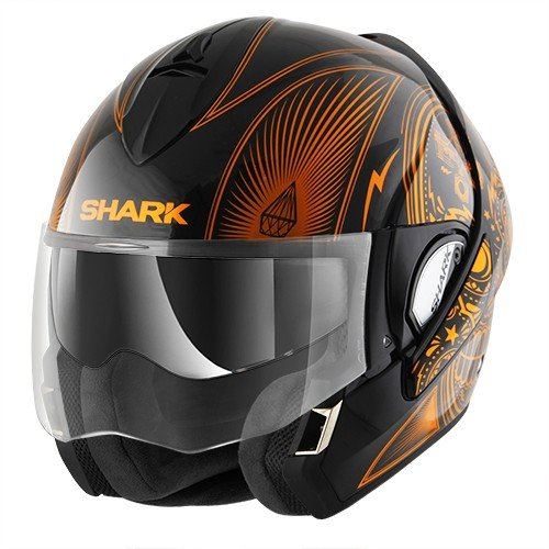 Shark - Casque moto - Shark Evoline Series 3 Mezcal Chrome KUO...