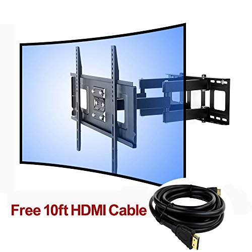 Fleximounts Curved TV Mount UHD Bracket LED LCD Plasma TV Mounts Brackets fit for most of 32