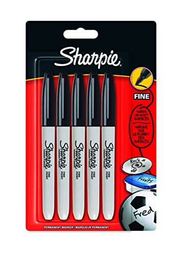 sharpie-permanent-marker-fine-point-pack-of-5-black