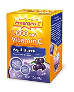 Emergen-C Acai Berry, 10-count from Emergen-C