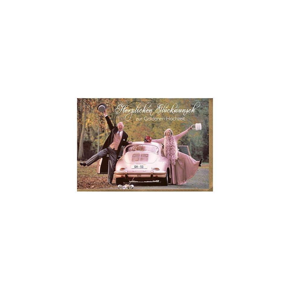 Witzige Glückwunschkarte Zur Goldenen Hochzeit On Popscreen
